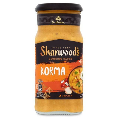 Sharwoods Cooking Sauce - Korma Mild (CASE of 6 x 420g)