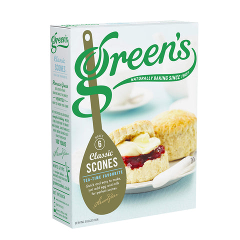 Greens Scone Mix - Classic Recipe (CASE of 6 x 280g)