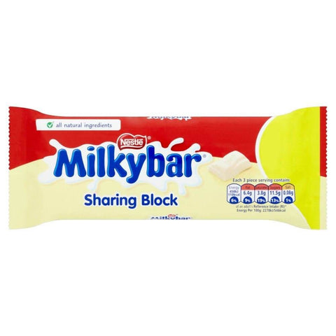 Nestle Milkybar - Large Bar (CASE of 12 x 90g)