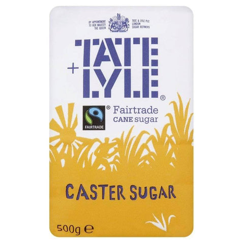 Tate and Lyle Sugar - Caster (CASE of 10 x 500g)