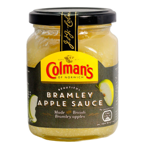 Colmans Bramley Apple Sauce (CASE of 8 x 155g)
