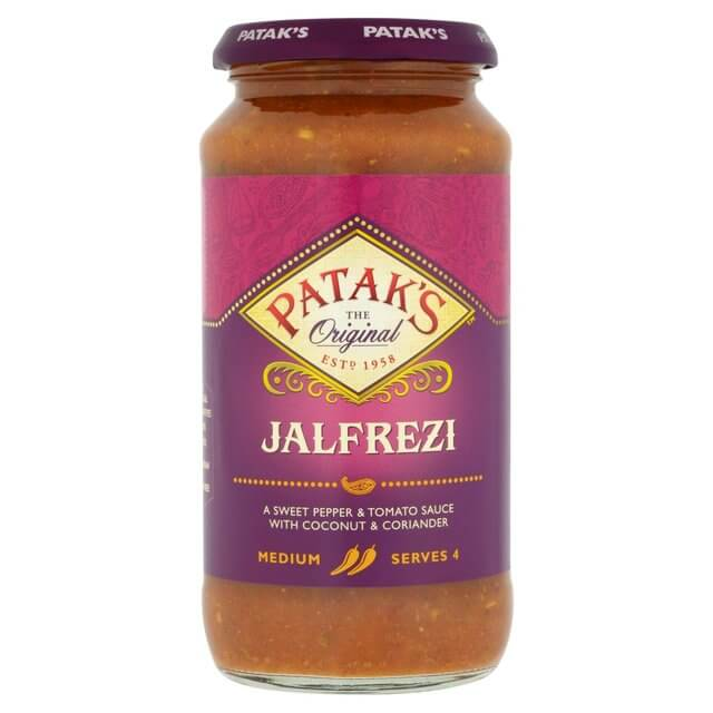 Pataks Curry Sauce -  Jalfrezi Medium  (CASE of 6 x 450g)