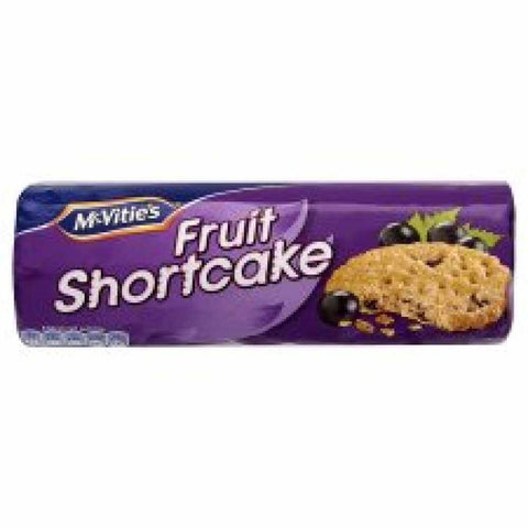 McVities Fruit Shortcake Biscuits (CASE of 12 x 200g)