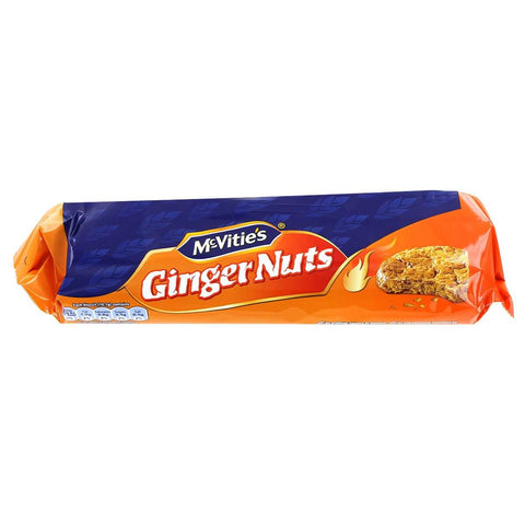 McVities Ginger Nut Biscuits (CASE of 12 x 250g)