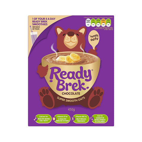 Weetabix ReadyBrek Chocolate Porridge Oats (CASE of 6 x 450g)