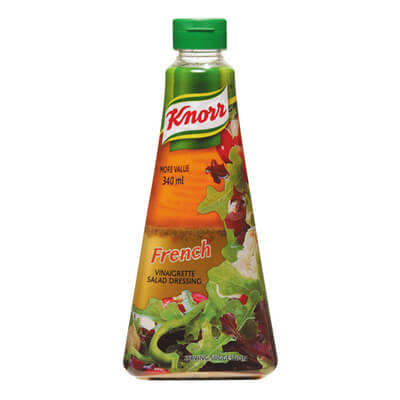 Knorr French Vinaigrette Salad Dressing (CASE of 5 x 340ml)