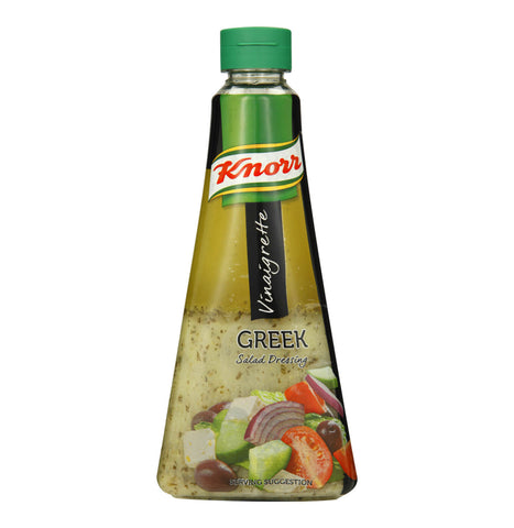 Knorr Greek Vinaigrette Salad Dressing (CASE of 5 x 340ml)