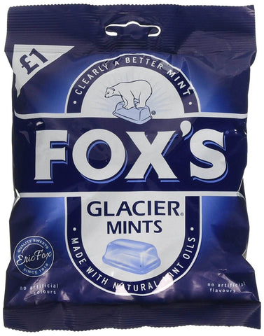 Foxs Glacier - Mints Bag (CASE of 12 x 130g)