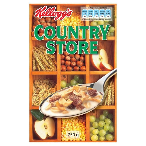 Kelloggs Country Store (CASE of 12 x 750g)