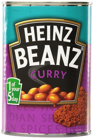 Heinz Curry Beans (CASE of 12 x 390g)