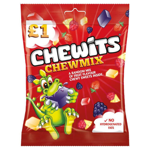 Chewits - Chew Mix (CASE of 12 x 125g)