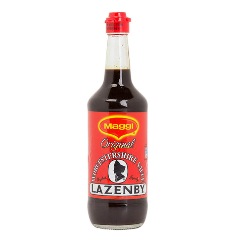 Maggi Lazenby Worcestershire Sauce - Original Large Bottle (CASE of 6 x 500ml)
