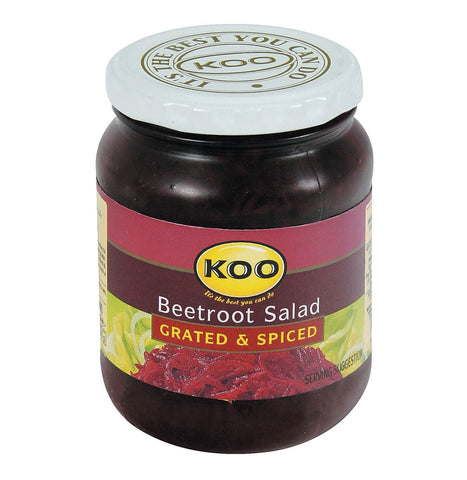 Koo Beetroot Grated and Spiced (Kosher) (CASE of 12 x 405g)