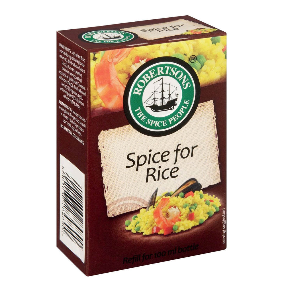 Robertsons Spice - Spice for Rice Refill Box (CASE of 10 x 89g)