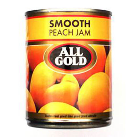 All Gold Smooth Peach Jam (Kosher) (CASE of 12 x 450g)