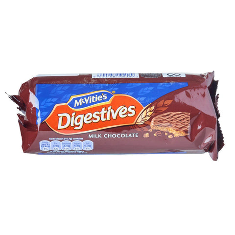 McVities Digestives - Milk Chocolate Biscuits (CASE of 12 x 266g)