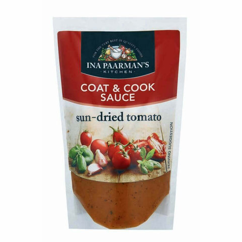 Ina Paarman Sauce - Sun Dried Tomato Coat and Cook (Kosher) (CASE of 12 x 200ml)
