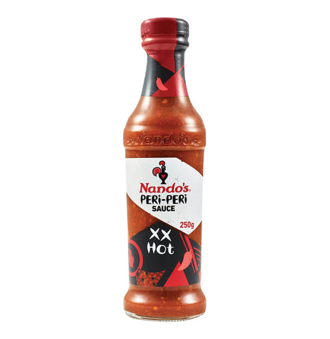 Nandos Peri Peri Sauce - X X Hot Large Bottle (Kosher) (CASE of 6 x 260g)