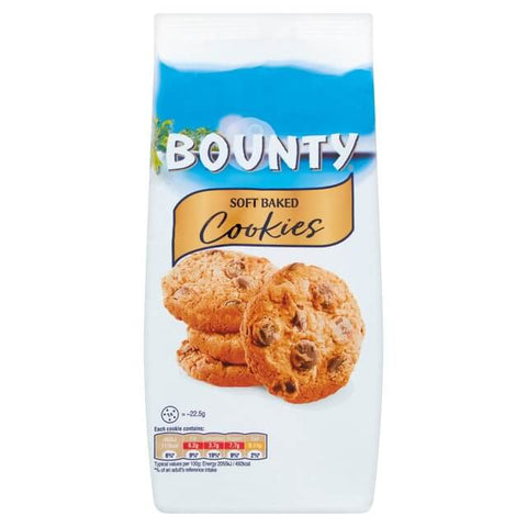 Mars Bounty - Soft Baked Cookies (CASE of 8 x 180g)