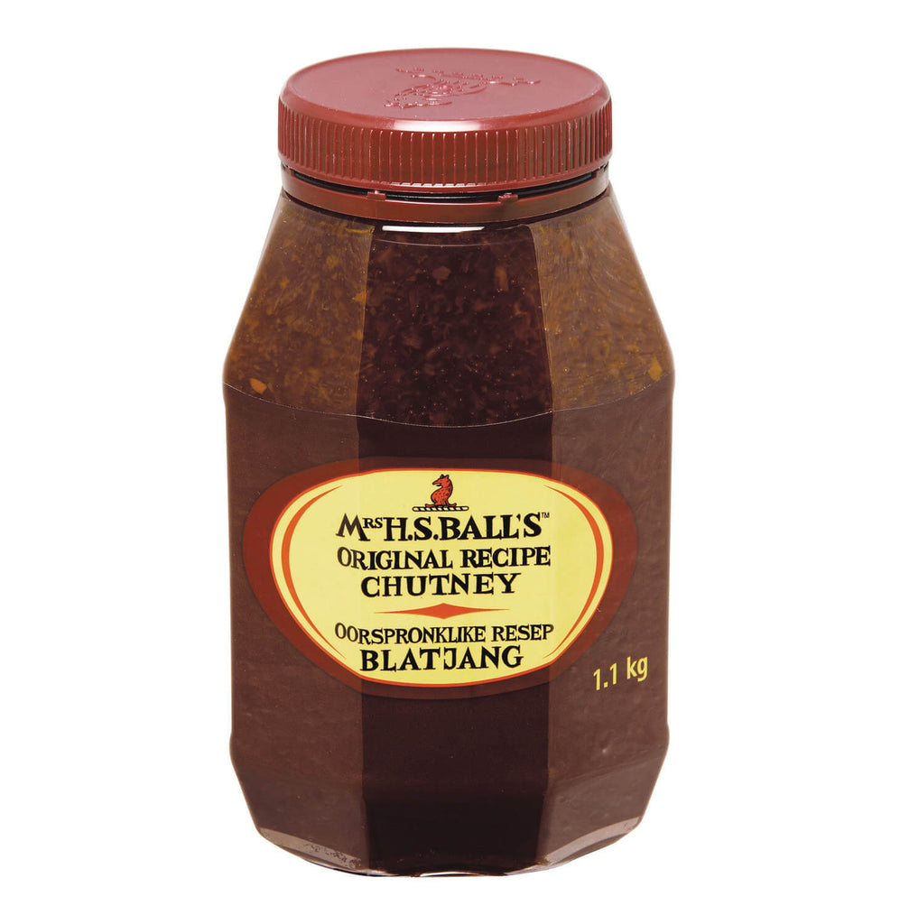 Mrs Balls Chutney - Original Large Jar (CASE of 12 x 1.1kg)