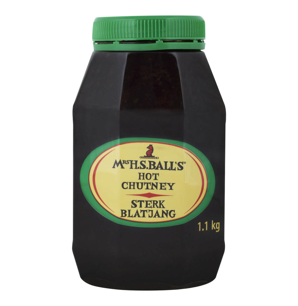 Mrs Balls Chutney - Hot Large Jar (CASE of 12 x 1.1kg)