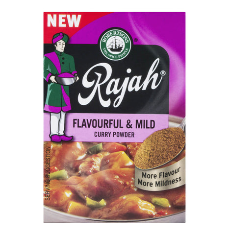 Robertsons Rajah Mild and Flavorful Curry Powder (Kosher) (CASE of 10 x 100g)