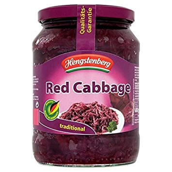 Hengstenberg Traditional Red Cabbage (CASE of 12 x 680g)