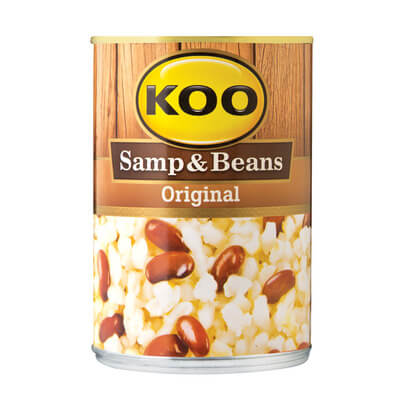 Koo Original Samp and Beans Can (CASE of 12 x 400g)