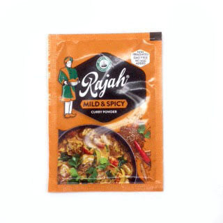 Robertsons Rajah Curry Powder - Mild and Spicy Sachet (CASE of 40 x 7g)