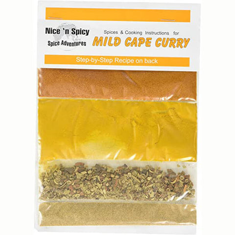 Nice and Spicy - Mild Cape Malay Spice Mix (CASE of 20 x 25g)