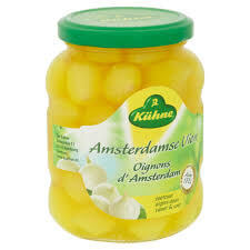 Kuehne Yellow Silverskin Onions (CASE of 6 x 340g)