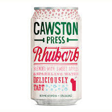 Cawston Press - Rhubarb with Crisp Apples Sparkling Water (CASE of 24 x 330ml)