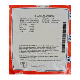 Crown National Boerewors Seasoning - Chakalaka (CASE of 5 x 1kg)