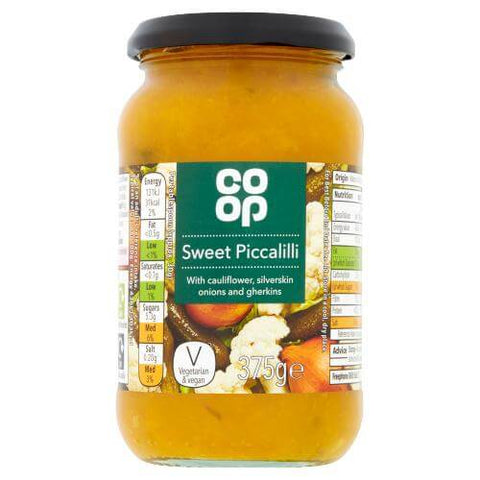 Co-Op Sweet Piccalilli (CASE of 6 x 375g)