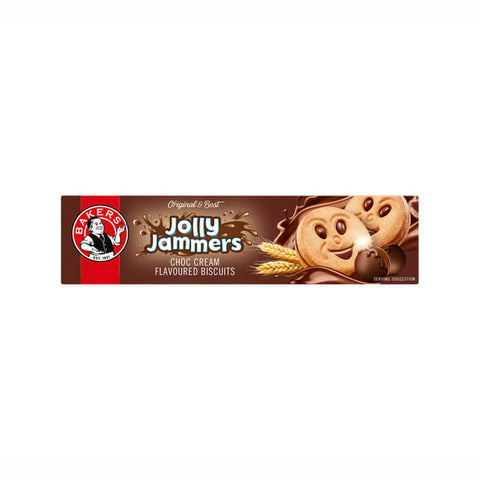 Bakers Jolly Jammers Choc Cream (CASE of 12 x 200g)