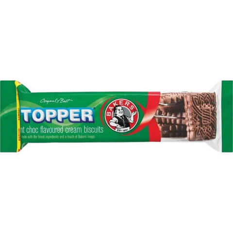 Bakers Topper - Choc Mint (CASE of 12 x 125g)