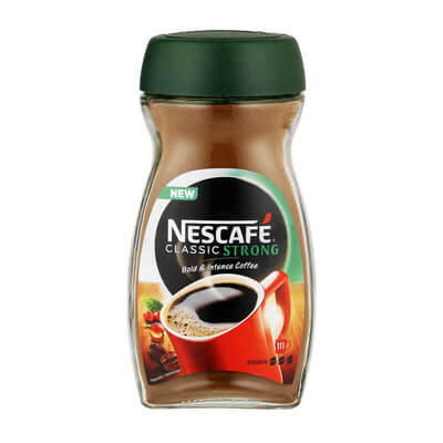 Nestle Nescafe Coffee - Strong (Kosher) (CASE of 6 x 200g)