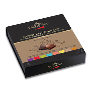 Gift Box 32 Squares 8 Grand Cru Dark And Milk Chocolate 160g