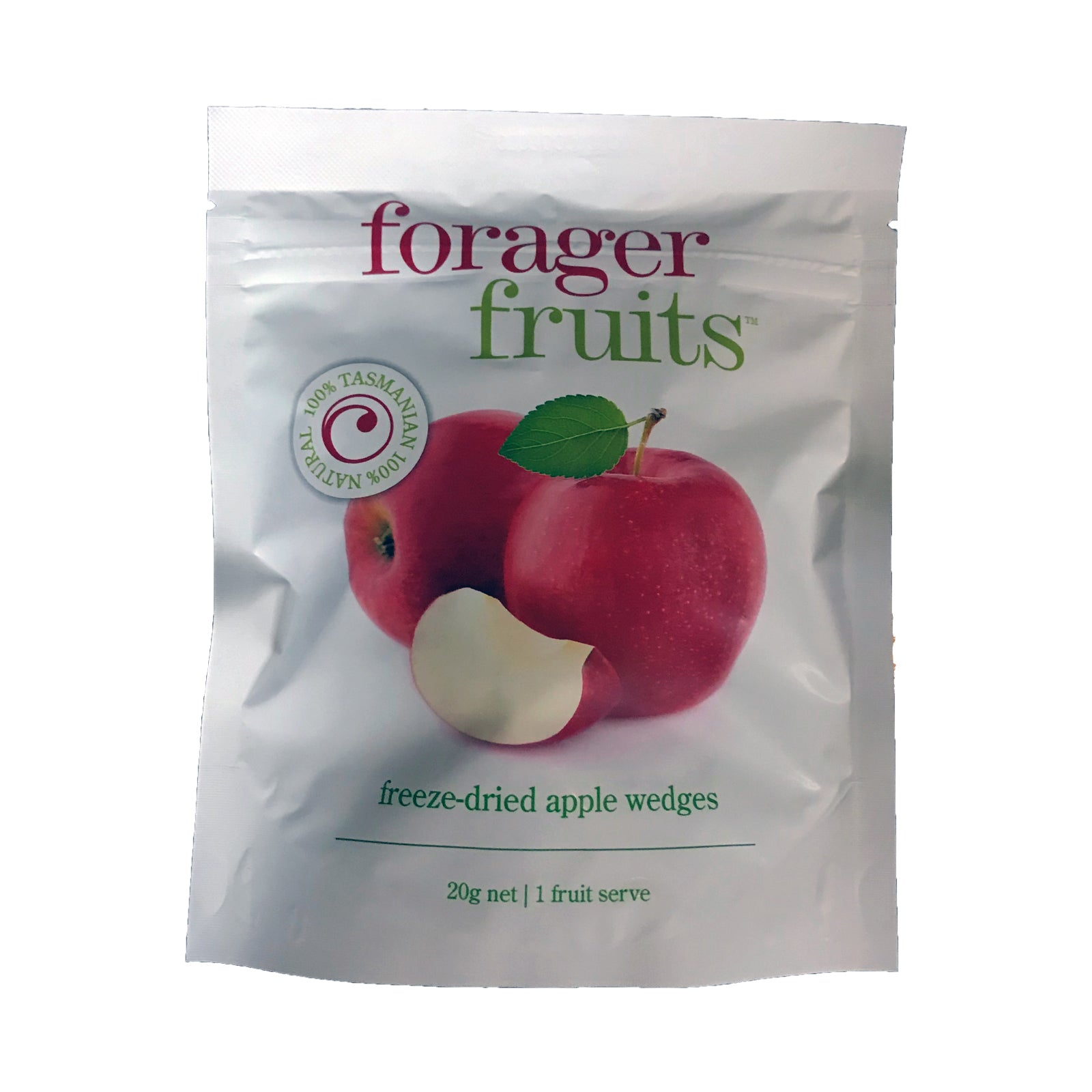 Forager Fruits Freeze Dried Apple Wedges 20g