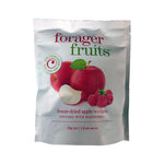 Forager Fruits Freeze Dried Apple Wedges Infused With Raspberry 20g