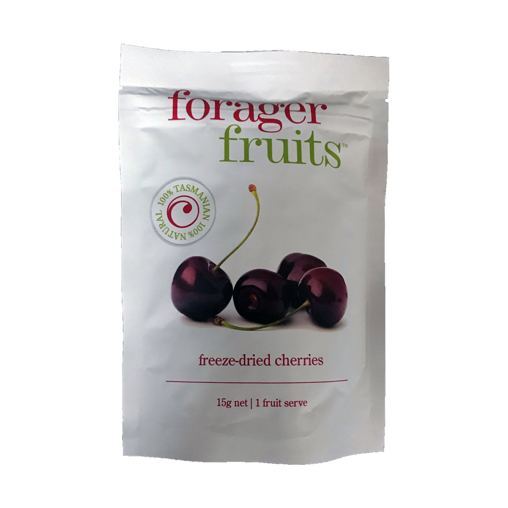 Forager Fruits Freeze Dried Tasmanian Cherries 15g