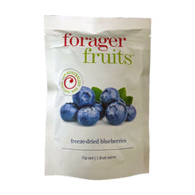 Load image into Gallery viewer, Forager Fruits Freeze Dried Blueberries 15g