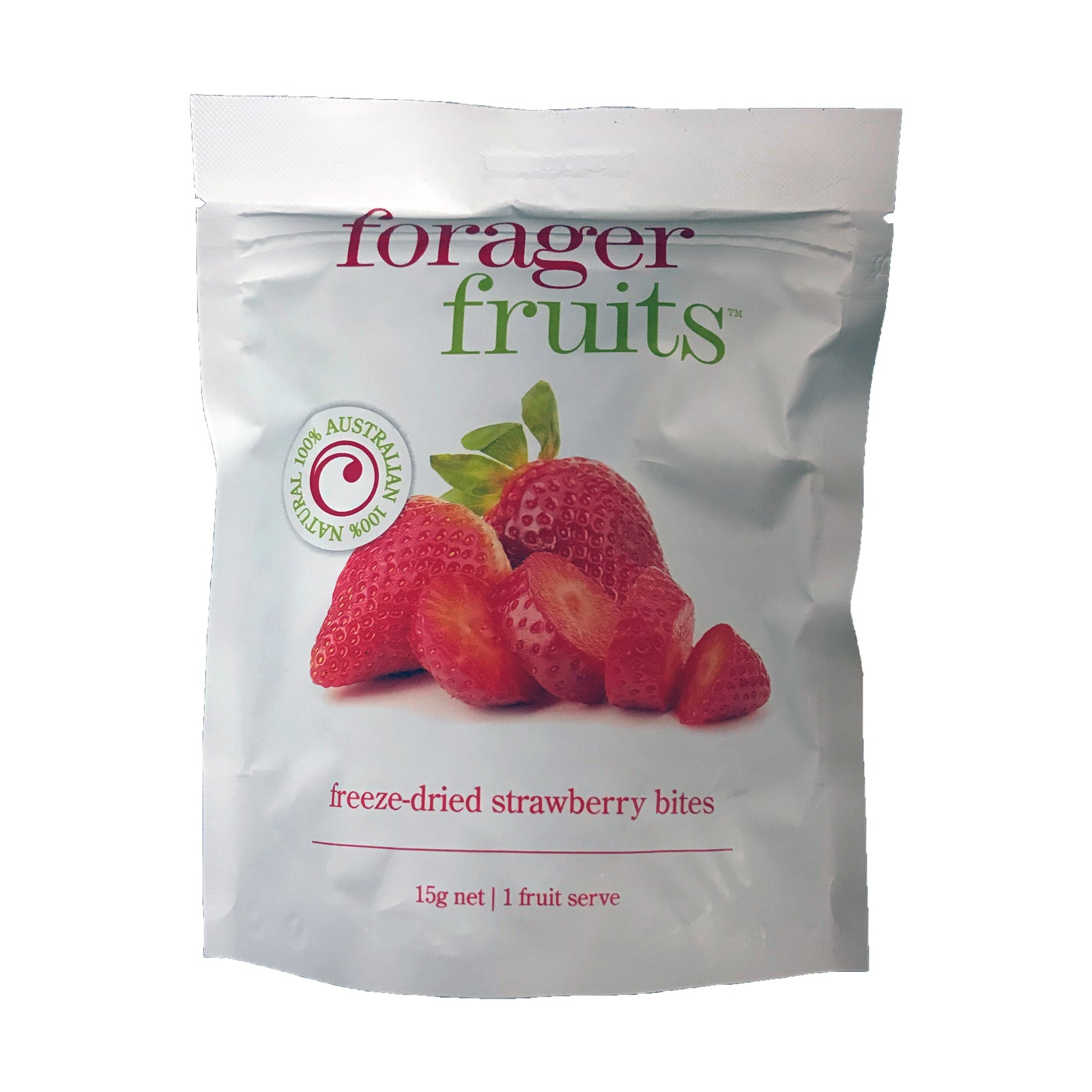 Forager Fruits Freeze Dried Strawberries 15g