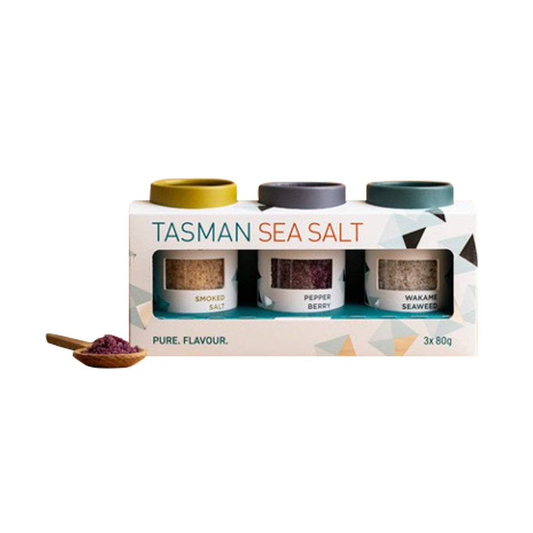 Tasman Sea Salt Gift Box Set 240g