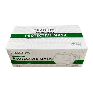 Disposable Protective Mask 3 Layer Filter 50 pcs (For Adult)