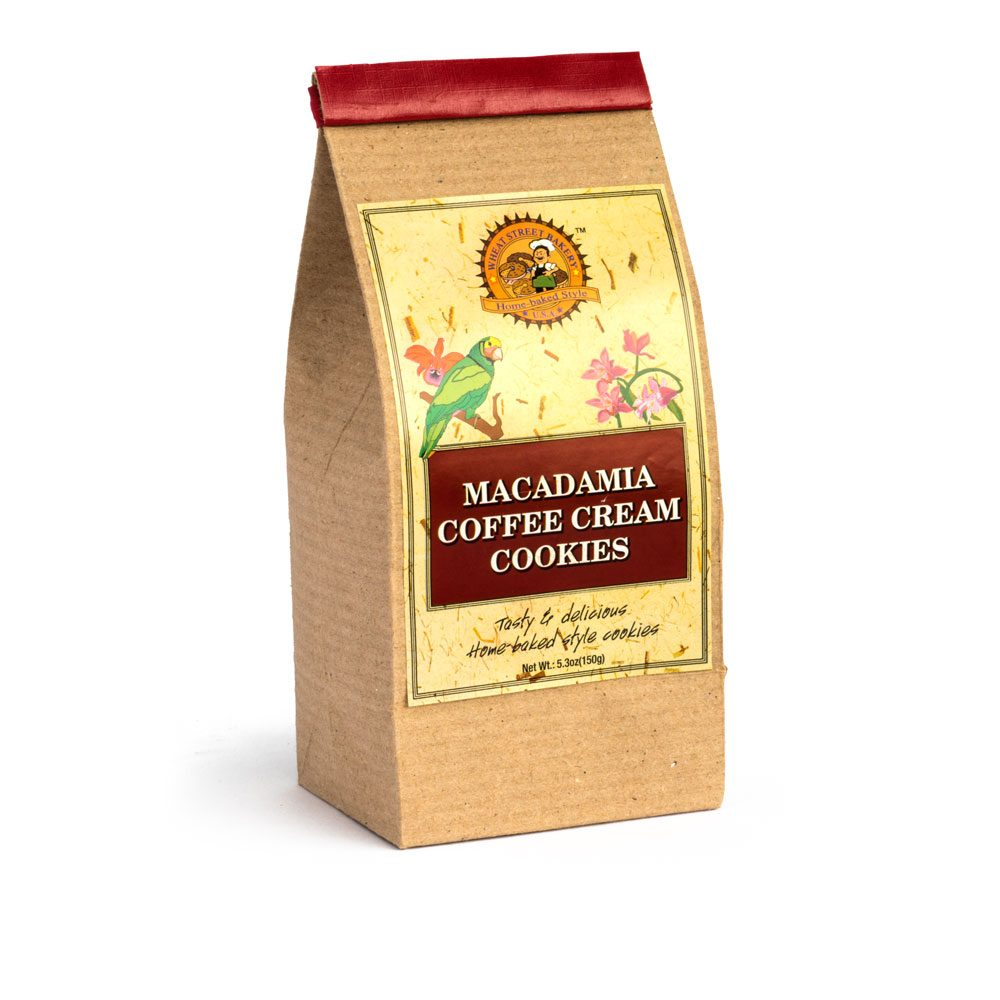 Baked Cookies - Macadamia Coffee Cream Filled (10-Pack)