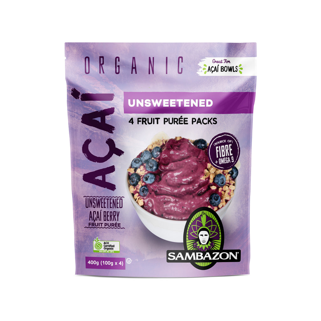 Organic Acai Berry Superfood Pure (Unsweetened)