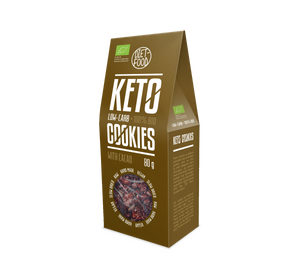 Bio Keto Cookies With Cocoa 80g