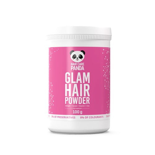 Glam Hair Powder Natural Keratin And Collagen Cocktail Healthy Beautiful Hair 100g