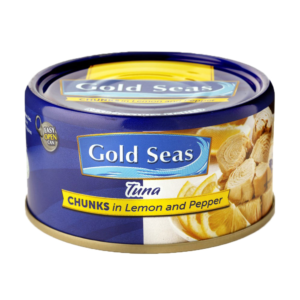 Yellowfin Tuna Chunks in Lemon and Pepper 185g